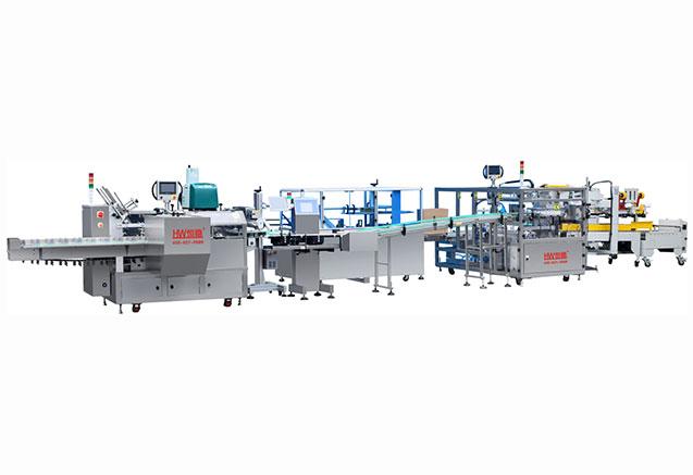 深圳LY550WQ装盒装箱生产线