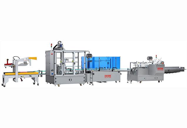 LY-550LQ装盒装箱生产线