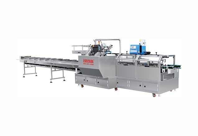 佛山LY-500D瓦楞纸盒装盒机
