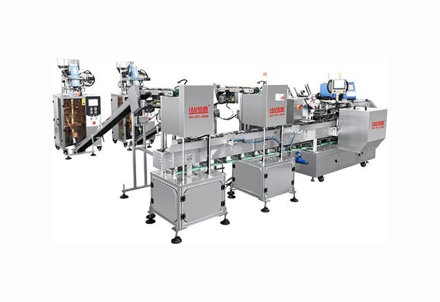 深圳LY300F条状产品全自动装盒生产线